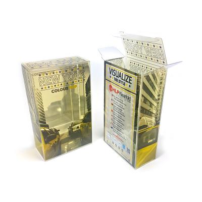 Confezioni in plastica trasparente con stampa a lamina